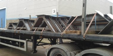 A Frames Structural Steel
